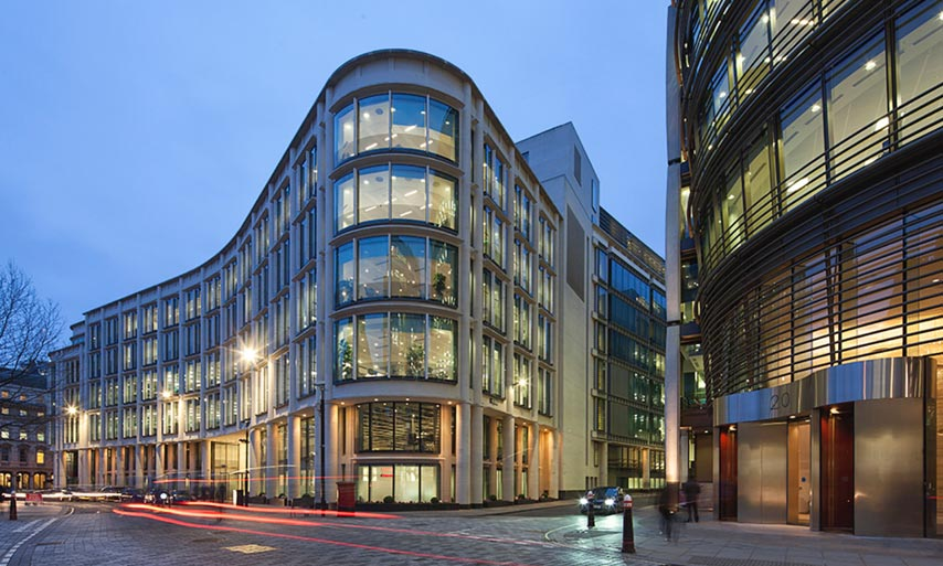 Fire Door Strips >> Out Of Hours Installation - Commerzbank, London - Fire ...