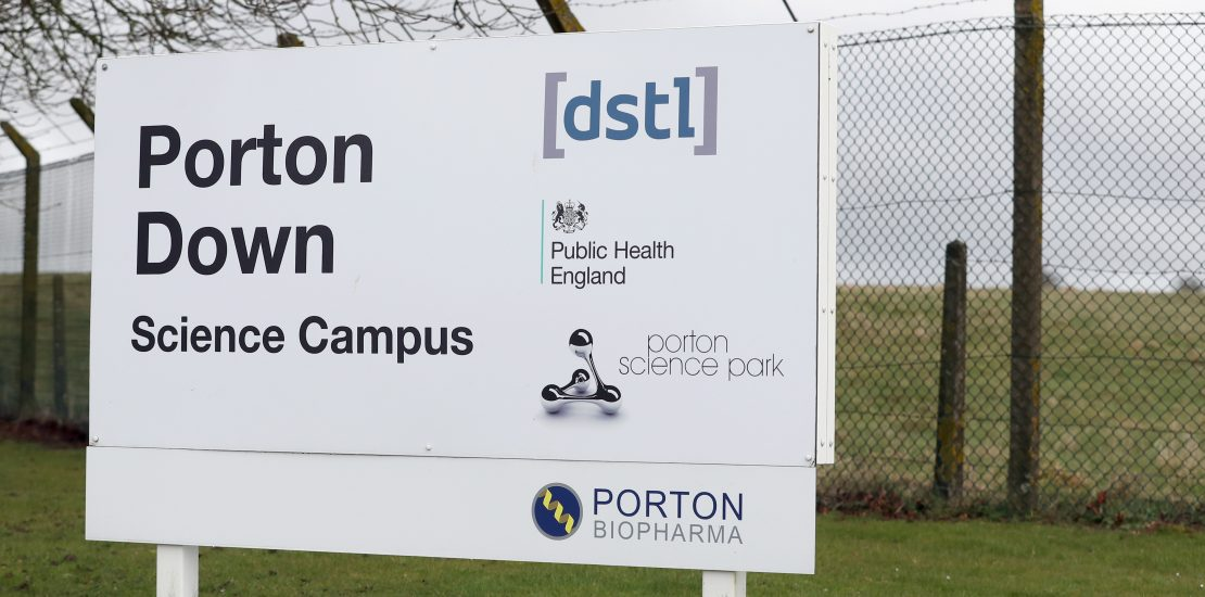 Latest news from Fire Door Experts - Porton BioPharma, a first franchise for the company!