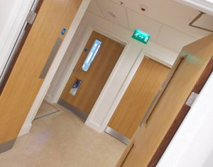 Fit Only project using doors from Integrated Doorset Solutions Limited