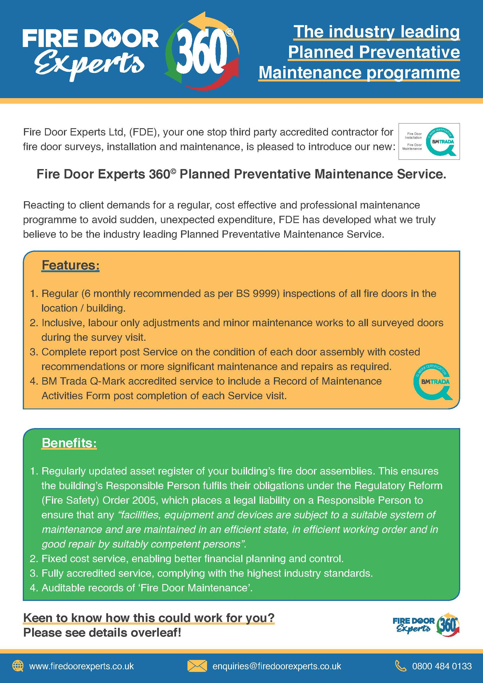 Fire Door Experts 360 - An Introduction inc ARTs