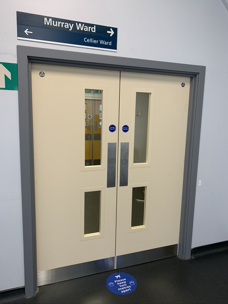 Whittington Hospital - Fire door installations