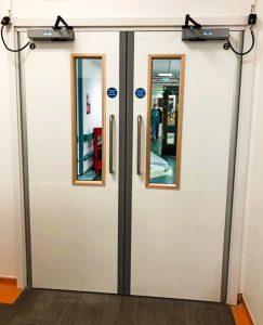 Fire Door Experts - Healthcare Sector specialist fire door installations