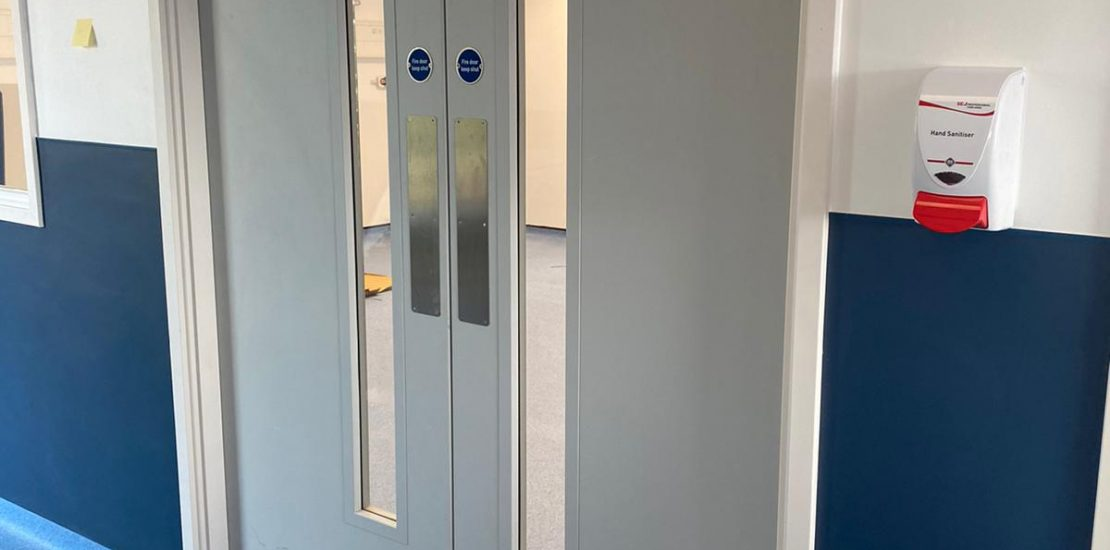 Agile installation by Fire Door Experts' team